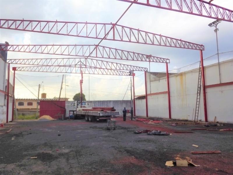 Empresa Que Instala Estrutura Metálica Galpão Cardeal - Estrutura Metálica para Telhado