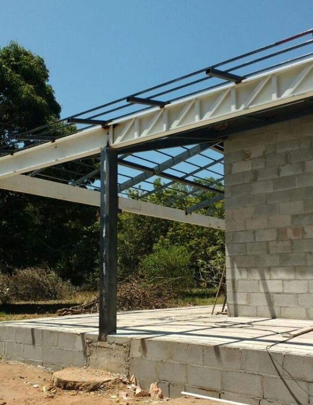 Empresa Que Instala Estrutura Metálica Telhado Bragança Paulista - Estrutura Metálica para Telhado