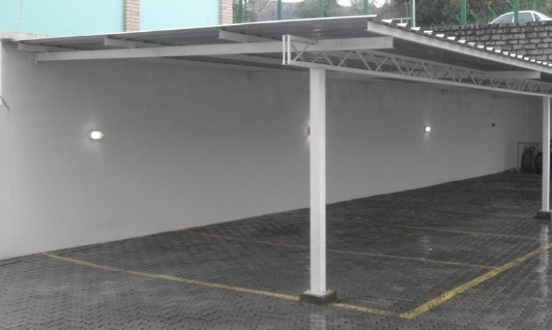 Estrutura Metálica para Garagem Atibaia - Estrutura Metálica para Telhado