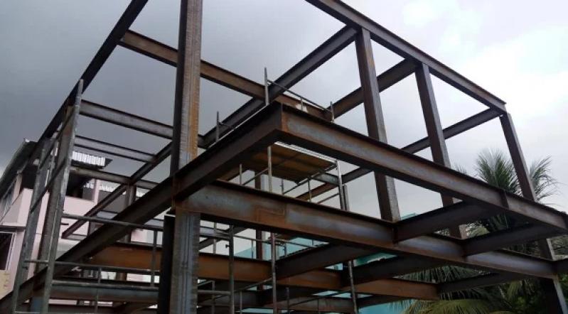 Estrutura Metálica Residencial Hortolândia - Estrutura Metálica para Telhado