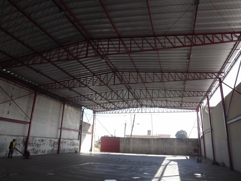 Instalação de Estrutura Metálica Galpão Bragança Paulista - Estrutura Metálica para Telhado