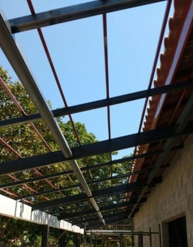 Instalação de Estrutura Metálica para Casas Louveira - Estrutura Metálica para Telhado