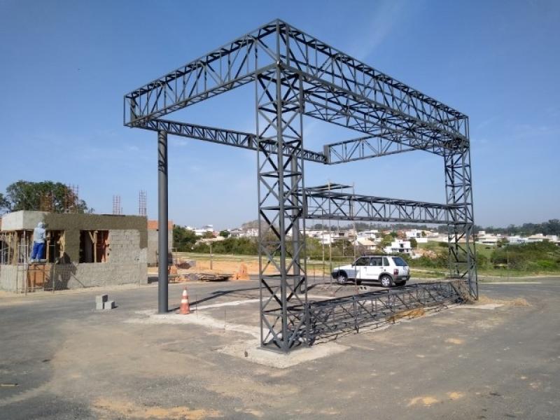 Instalação de Estrutura Metálica para Galpão Cardeal - Estrutura Metálica para Telhado