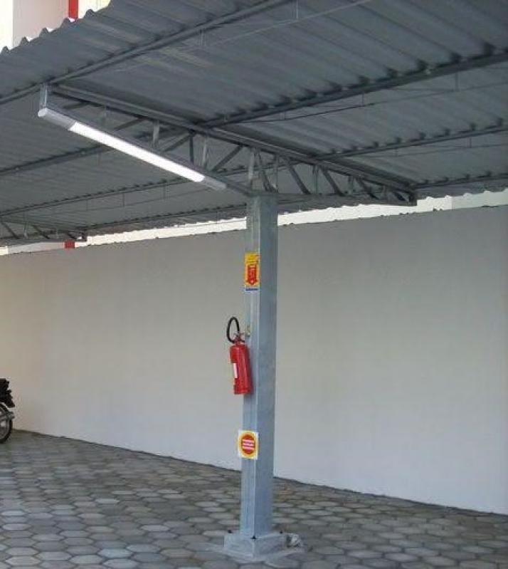 Instalação de Estrutura Metálica para Garagem Rio Claro - Estrutura Metálica para Telhado
