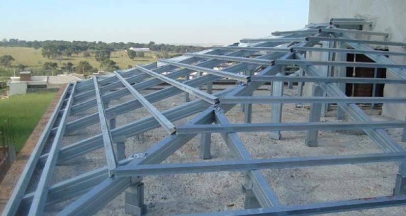 Instalação de Estrutura Metálica para Telhado Colonial Piracicaba - Estrutura Metálica para Telhado