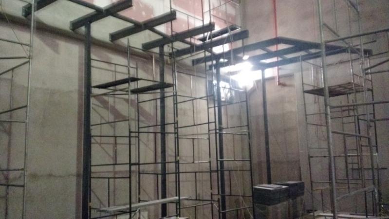 Mezanino Metálico Industrial Piracicaba - Mezanino Estrutura Metálica