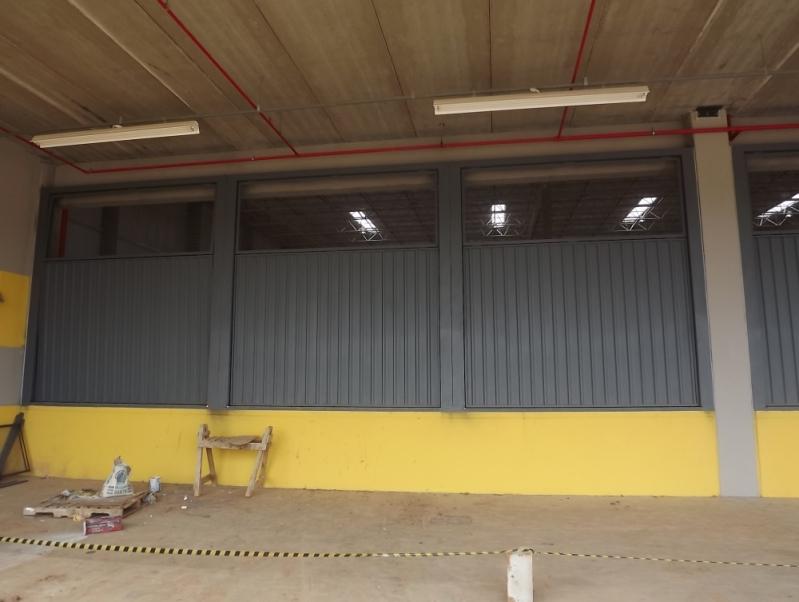 Onde Faz Portão Metálico de Enrolar Atibaia - Portão Garagem Metálico
