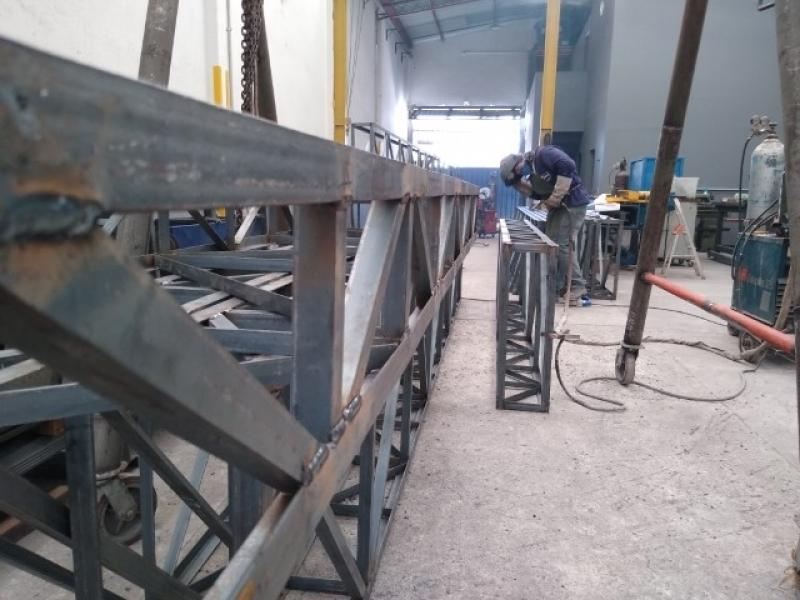 Onde Faz Treliça de Aço Valinhos - Treliça para Telhado
