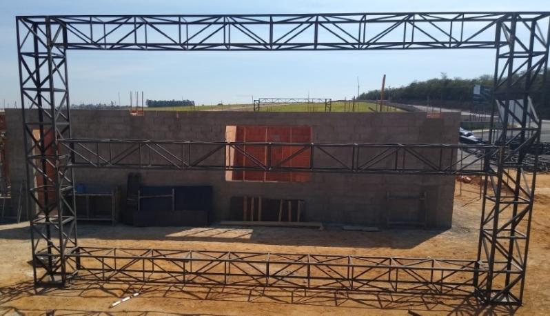 Onde Faz Treliça de Construção Itupeva - Treliça para Telhado