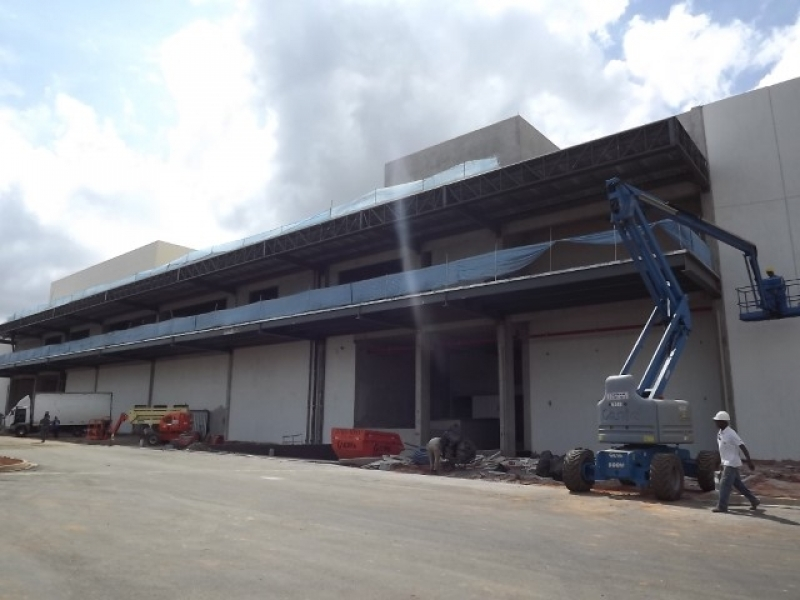 Orçamento de Mezanino Metálico para Indústria Atibaia - Mezanino de Metálico
