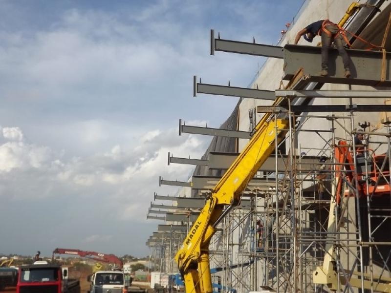 Orçamento de Mezanino Metálico Campinas - Mezanino Estrutura Metálica