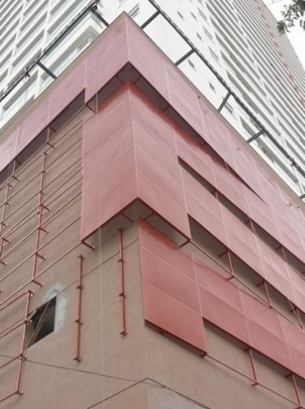 Revestimento Metálico para Fachada Paulínia - Revestimento Metalico Fachada