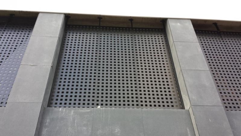 Revestimento Metálico para Parede Tanquinho - Revestimento Metalico Fachada