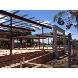 empresa que instala estrutura metálica para telhado residencial Limeira