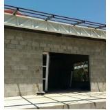 empresa que instala estrutura metálica para telhado Jaguariúna