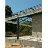 empresa que instala estrutura metálica telhado Louveira