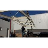 empresa que instala estrutura metálica Tanquinho