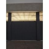 empresas de portão de metálico Paulínia