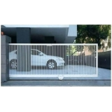empresas de portão garagem metálico Amparo