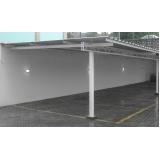 estrutura metálica para garagem Atibaia