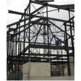 estrutura metálica para telhado residencial Piracicaba