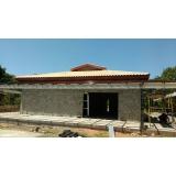 estrutura metálica para telhado Americana