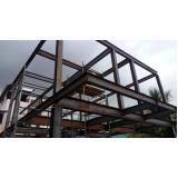 estrutura metálica residencial Itu