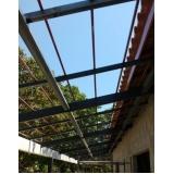 instalação de estrutura metálica para casas Louveira