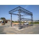 instalação de estrutura metálica para galpão Morungaba