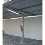 instalação de estrutura metálica para garagem Porto Feliz