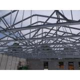 instalação de estrutura metálica para telhado residencial Vinhedo