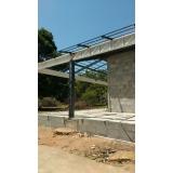 instalação de estrutura metálica para telhado Jacareí