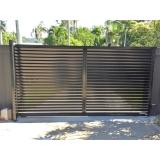 onde faz portão garagem metálico Jundiaí