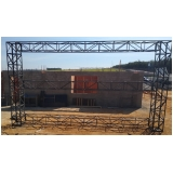 onde faz treliça de construção Santo Antônio da Posse