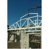 onde faz treliça de ferro para telhado Louveira