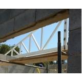 orçamento de treliça de ferro para telhado Porto Feliz