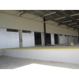 portão metálico para garagem Atibaia