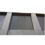 revestimento metálico para parede Piracicaba