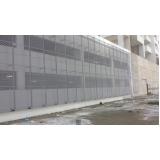 revestimento metálico para parede