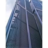 serviço de revestimento metalico fachada Limeira