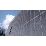 serviço de revestimento metálico para fachada Amparo