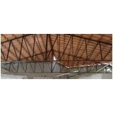 treliça de ferro para telhado valores Amparo