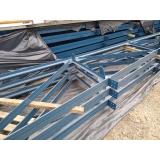 treliça para construção