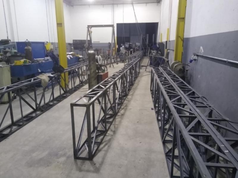 Treliça de Aço Valores Sumaré - Treliça Metálica