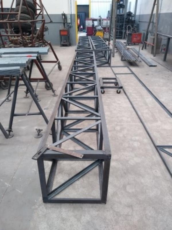 Treliça Metálica Louveira - Treliça para Telhado