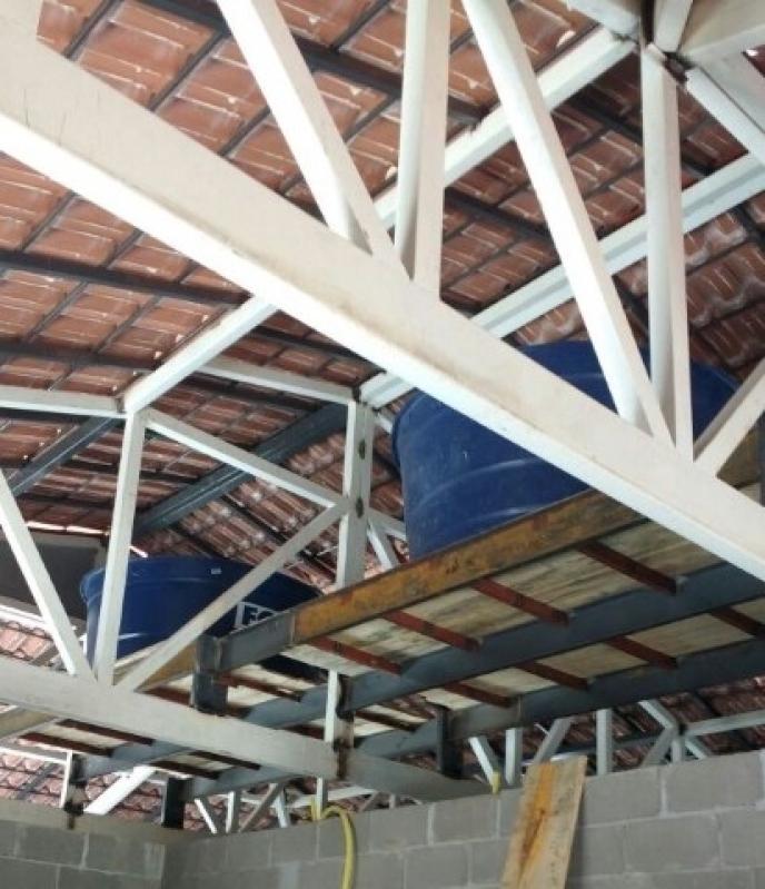Treliça para Telhado Valores Limeira - Treliça de Ferro
