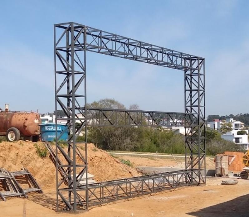 Treliças de Construção Amparo - Treliça Aço de Carbono