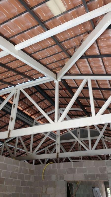 Treliças para Telhado Louveira - Treliça Aço de Carbono
